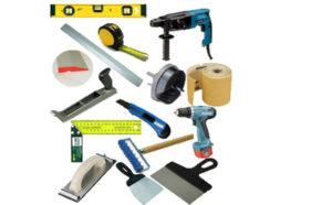 Полный перечень необходимого оборудования для работы с натяжными потолками