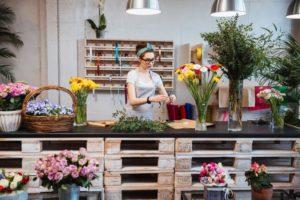 Бизнес на доставке цветов