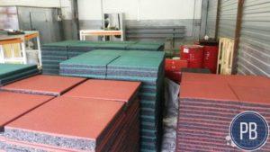 Бизнес по производству резиновой плитки