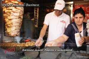 Бизнес-план по открытию ларька с шаурмой