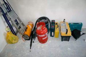 Оборудования для монтажа натяжных потолков